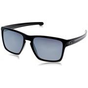 Oakley 9341-05 Occhiali Da Sole Sliver XL, Colore Polished Black/Black Iridium