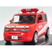 CARNEL 1/43 NISSAN CUBE Z12 LIFESAVING OPERATION Yokohama City Fire Department rescue squad vehicle activity (japan import)