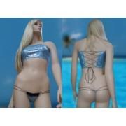 Bikini Sea reggiseno a fascia larga e mini mini string tanga