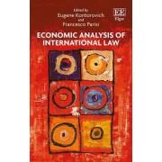 Economic Analysis of International Law by Eugene Kontorovich