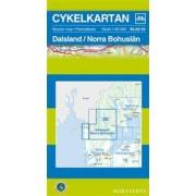 Fietskaart 20 Cykelkartan Dalsland - Norra Bohuslän   Norstedts