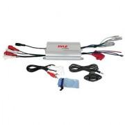 Pyle PLMRMP3A 4-Channel Waterproof MP3/iPod Marine Power Amplifier