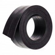 100 x 2.5 x 0.18 cm DIY Single Sided Flexible Magnetic Strip Tape Rubber Magnet for Office & School