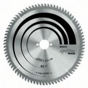 Pnz de ferstru circular stationar Optiline Wood 216x30mm