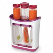 Infantino Squeeze Station - Food Factory + 2x Infantino Couple of Spoons 2 pack