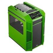 AeroCool XPredator - Telaio per computer da gioco, 0,7 mm, colore: Rosso Nero/Verde verde