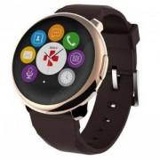Смартчасовник MyKronoz Smartwatch ZeRound, pink gold/ brown, KRON-ZEROUND-GOLD