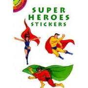 Super Heroes Stickers by Steven James Petruccio