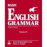 Basic English Grammar Workbook B with Answer Key by Betty Schrampfer Azar