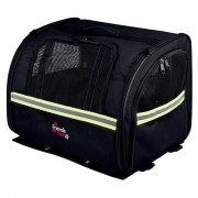 TRIXIE Dog Biker Carrier 35x28x29 cm Black 13112