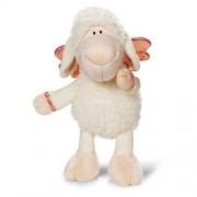 Owieczka biała z wiszącymi nogami 35cm