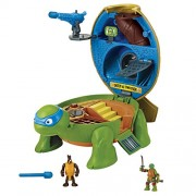 Teenage Mutant Ninja Turtles Teenage Mutant Ninja Micro Leonardo's Dojo Pet Turtle To Playset