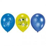 Amscan - 9900186 - 6 palloncini - Playmobil super 4