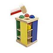 Melissa & Doug 13559 Pound and Roll Tower Toy