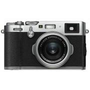 Fuji X100F CSC Camera Silver 23mm f/2.0 Fujinon Lens Kit 24.3MP 3.