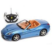 1/12 Scale Ferrari California Convertible Radio Remote Control Sport Car RC RTR Official Liciense Model (Color: Blue)