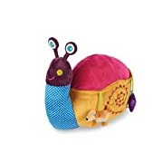 Oops 3-in-1 Sumptuously Soft and Tactile Activity Toy Cushion/Stool with Snail Design (X-Large)