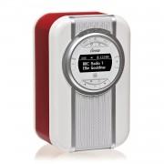 View Quest Christie Red Radio rétro DAB+ View et haut-parleur NFC/Bluetooth Rouge