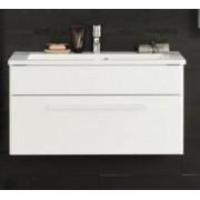 Kolpa san Uma OUU 90 alsószekrény mosdóval - fehér relief