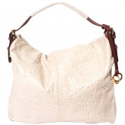 Florence Leather Market Borsa hobo a spalla in pelle stampato (8001s)