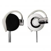 Casti stereo Clip-On HK-260 Hama, Alb