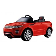 Swagspin Licensed Land Rover Evoque Ride On Remote Control Car For Kids (Red)