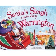 Santa's Sleigh is on its Way to Warrington by Eric James