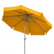 Parasol Orlando 270 - aluminium/polyester - champagnekleurig/geel, Schneider Schirme