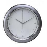 Reloj de cocina de pared plateado mate | Relojes de pared cocina
