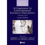 A Companion to Contemporary Political Philosophy by Robert E. Goodin
