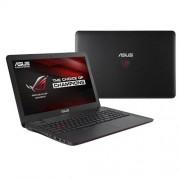 """ASUS ROG G551VW-FW074T i5-6300HQ(3.20GHz) 8GB 256GB SSD 15.6"""" FHD matný GTX960 2GB BluRay Win10 čierna 2r"""