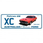 """Novelty Number Plate - Ford XC Falcon Gs"""