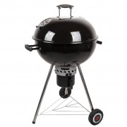 Grillchef Bollitore Barbecue a carbonella 53,5 cm Nero 11100