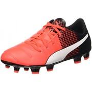 Puma Evopower 4,3 Fg Jr Botas de Fútbol rojo Red Blast/Bianco/Nero
