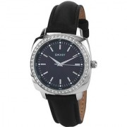 DKNY Quartz Black Round Women Watch NY8001 DKNY
