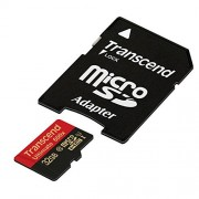 Transcend 32 GB MicroSDHC Class 10 UHS-I Memory card with Adapter 90 Mb/s (TS32GUSDHC10U1)