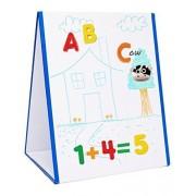 Edukid Toys Tabletop MAGNETIC EASEL & WHITEBOARD (2 Sided)