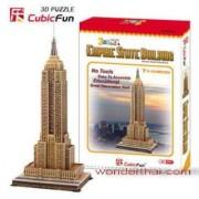 3D Puzzle Cubic Fun Empire State Building