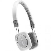 Bowers & Wilkins P3 Recertified Headphones, White/Grey (Wired)