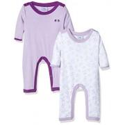 Twins 1 325 71, Pijama para Bebés, Violett (Lila 4004), 18 Meses ( lot de 2 )