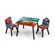 Disney Cars - Juego de sillas y mesa
