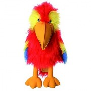 The Puppet Company - Large Birds - Scarlet Macaw