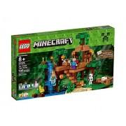 LEGO Minecraft - Set La casa del árbol en la jungla, multicolor (21125)