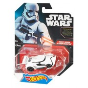 Hot Wheels Star Wars Character Car, First Order Stormtrooper by Mattel