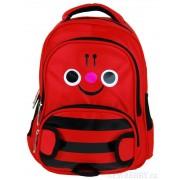 Dětský batoh L12001 červený čmelák
