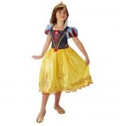 Costum carnaval fete Alba ca Zapada cu coronita