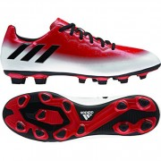 adidas Fußballschuh MESSI 16.4 FxG - red/core black/white | 47 1/3