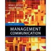 Management Communication by Michael E. Hattersley