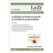 Legislatia privind terenurile si restituirea proprietatilor. Actualizat 15.05.2016