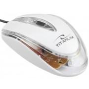 Mouse Esperanza TITANUM Lagena 3D (Alb)